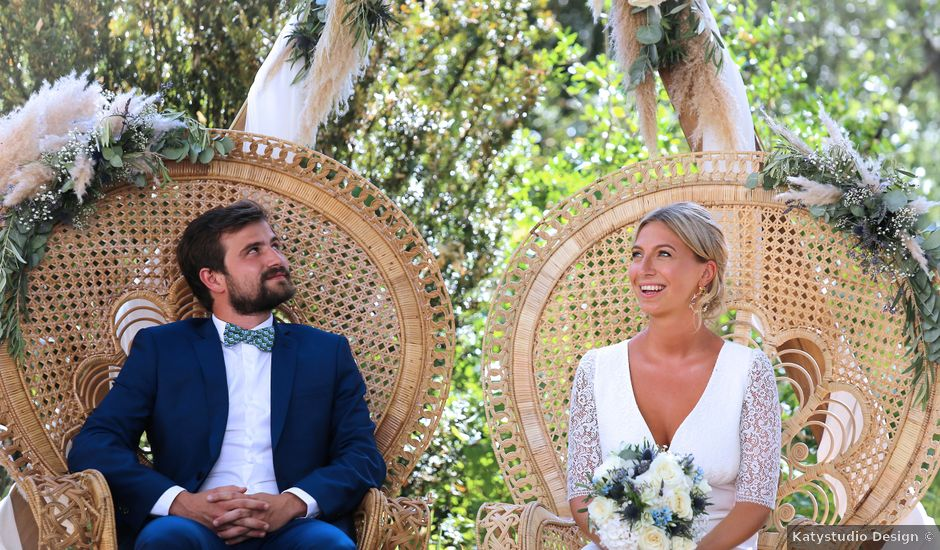 Le mariage de Valentin et Capucine à Conqueyrac, Gard