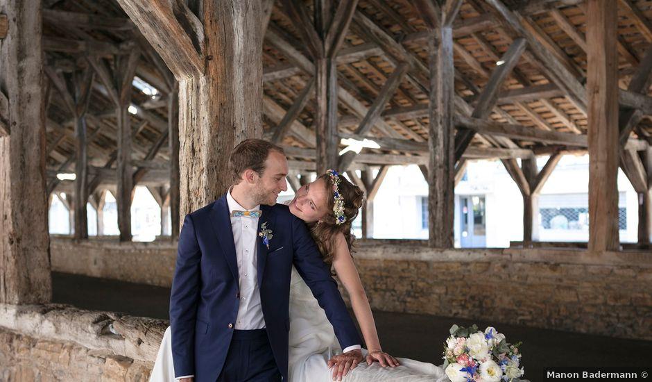 Le mariage de Max et Sophie à Saint-Éloi, Nièvre