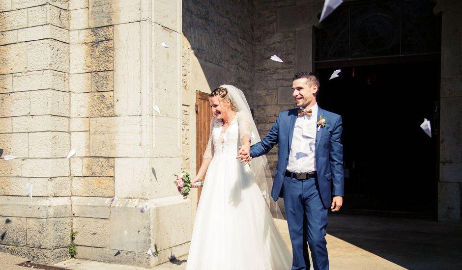 Le mariage de Denis et Lucie à Neuville-sur-Ain, Ain