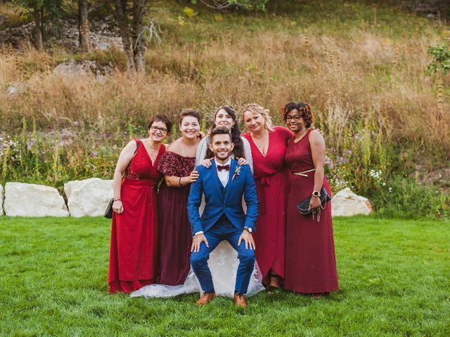 Le mariage de Kenny et Léa à Autrans, Isère 10