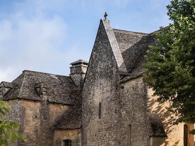 Le mariage de Timothée et Caroline à Saint-Amand-de-Coly, Dordogne 3