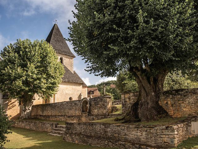 Le mariage de Timothée et Caroline à Saint-Amand-de-Coly, Dordogne 4