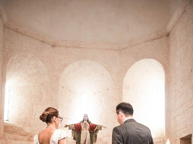 Le mariage de Timothée et Caroline à Saint-Amand-de-Coly, Dordogne 1