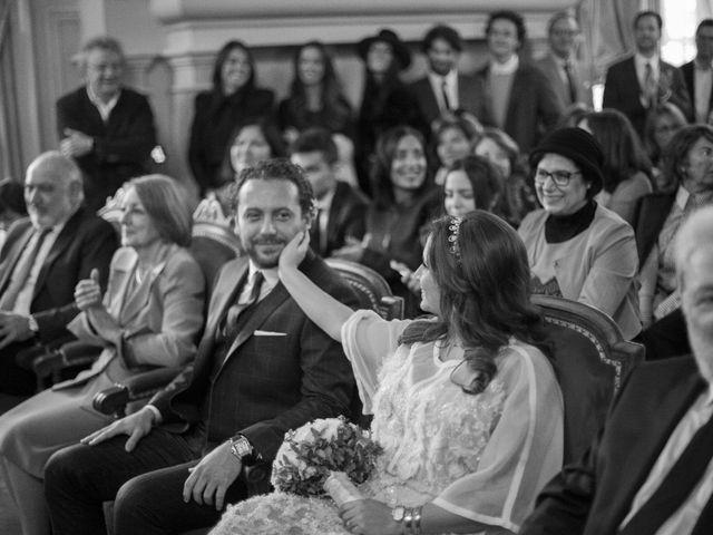Le mariage de David et Ilana à Paris, Paris 6