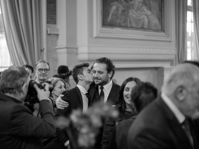 Le mariage de David et Ilana à Paris, Paris 8