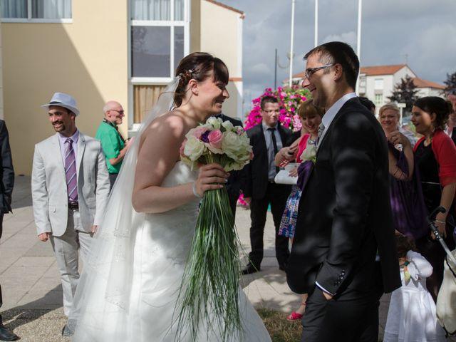 Le mariage de Stéphane et Jessica à Le Loroux-Bottereau, Loire Atlantique 26