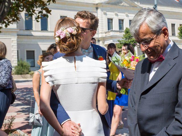 Le mariage de Guillaume et Mathilde à Bécon-les-Granits, Maine et Loire 7