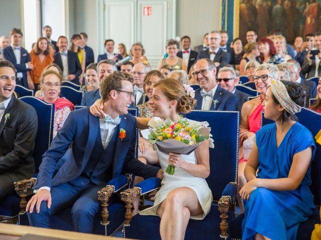 Le mariage de Guillaume et Mathilde à Bécon-les-Granits, Maine et Loire 11