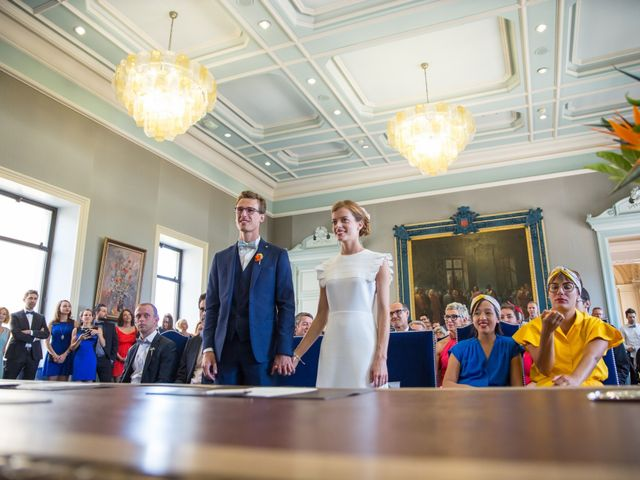Le mariage de Guillaume et Mathilde à Bécon-les-Granits, Maine et Loire 13