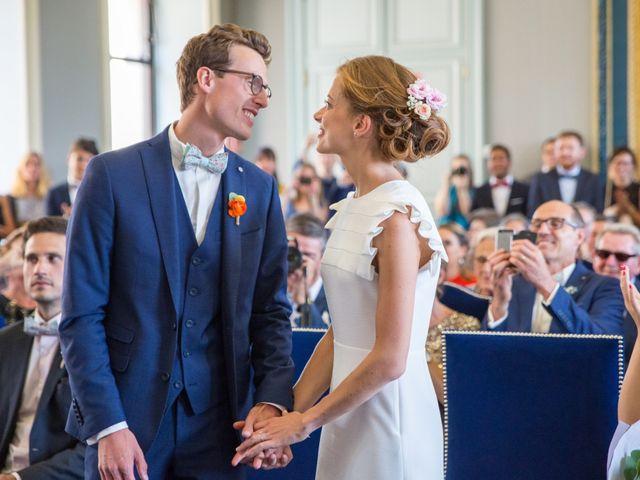 Le mariage de Guillaume et Mathilde à Bécon-les-Granits, Maine et Loire 16