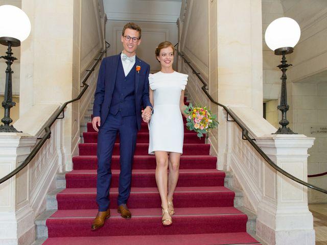 Le mariage de Guillaume et Mathilde à Bécon-les-Granits, Maine et Loire 18