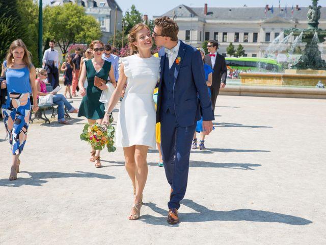 Le mariage de Guillaume et Mathilde à Bécon-les-Granits, Maine et Loire 22