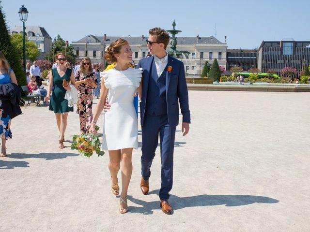 Le mariage de Guillaume et Mathilde à Bécon-les-Granits, Maine et Loire 23
