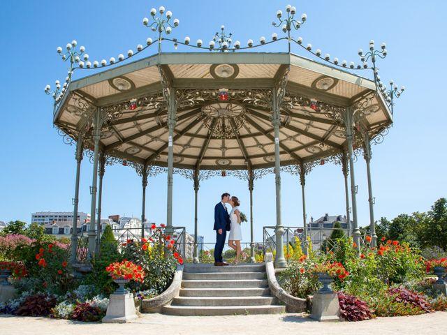 Le mariage de Guillaume et Mathilde à Bécon-les-Granits, Maine et Loire 24