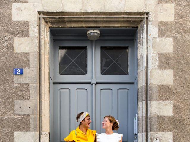 Le mariage de Guillaume et Mathilde à Bécon-les-Granits, Maine et Loire 28