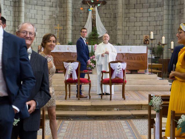 Le mariage de Guillaume et Mathilde à Bécon-les-Granits, Maine et Loire 36