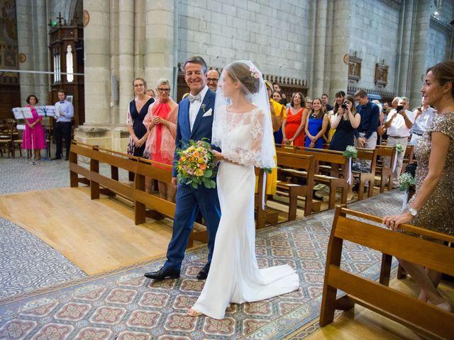 Le mariage de Guillaume et Mathilde à Bécon-les-Granits, Maine et Loire 39