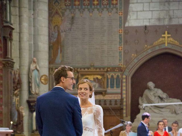 Le mariage de Guillaume et Mathilde à Bécon-les-Granits, Maine et Loire 42