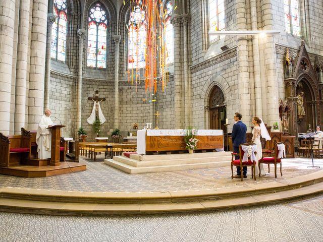 Le mariage de Guillaume et Mathilde à Bécon-les-Granits, Maine et Loire 43