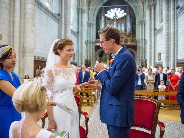 Le mariage de Guillaume et Mathilde à Bécon-les-Granits, Maine et Loire 51