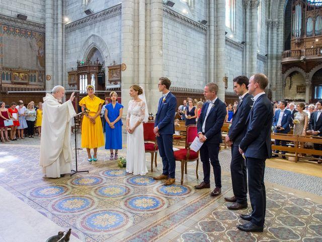 Le mariage de Guillaume et Mathilde à Bécon-les-Granits, Maine et Loire 54