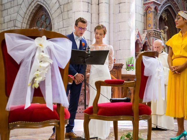 Le mariage de Guillaume et Mathilde à Bécon-les-Granits, Maine et Loire 55