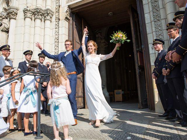 Le mariage de Guillaume et Mathilde à Bécon-les-Granits, Maine et Loire 63