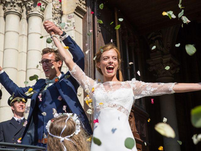Le mariage de Guillaume et Mathilde à Bécon-les-Granits, Maine et Loire 64