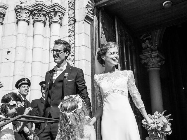 Le mariage de Guillaume et Mathilde à Bécon-les-Granits, Maine et Loire 65