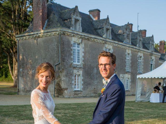 Le mariage de Guillaume et Mathilde à Bécon-les-Granits, Maine et Loire 111