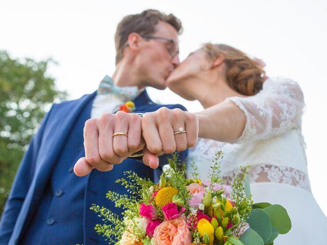 Le mariage de Guillaume et Mathilde à Bécon-les-Granits, Maine et Loire 2