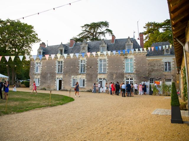Le mariage de Guillaume et Mathilde à Bécon-les-Granits, Maine et Loire 134