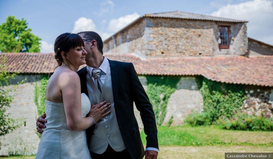 Le mariage de Stéphane et Jessica à Le Loroux-Bottereau, Loire Atlantique