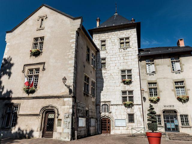 Le mariage de Loic et Marine à Aix-les-Bains, Savoie 1