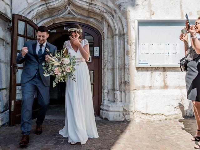Le mariage de Loic et Marine à Aix-les-Bains, Savoie 15