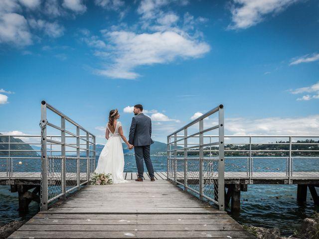 Le mariage de Loic et Marine à Aix-les-Bains, Savoie 27