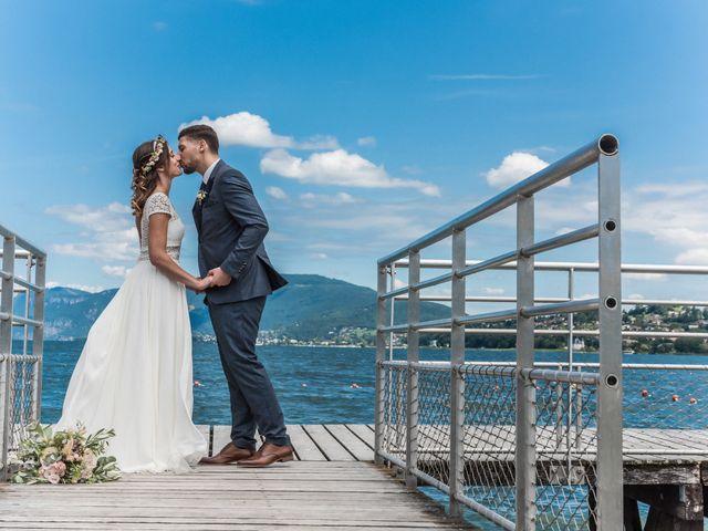 Le mariage de Loic et Marine à Aix-les-Bains, Savoie 28