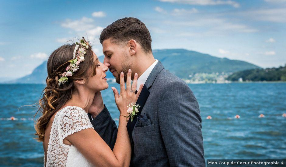 Le mariage de Loic et Marine à Aix-les-Bains, Savoie