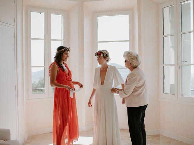 Le mariage de Mayer et Olivia à Le Castellet, Var 9