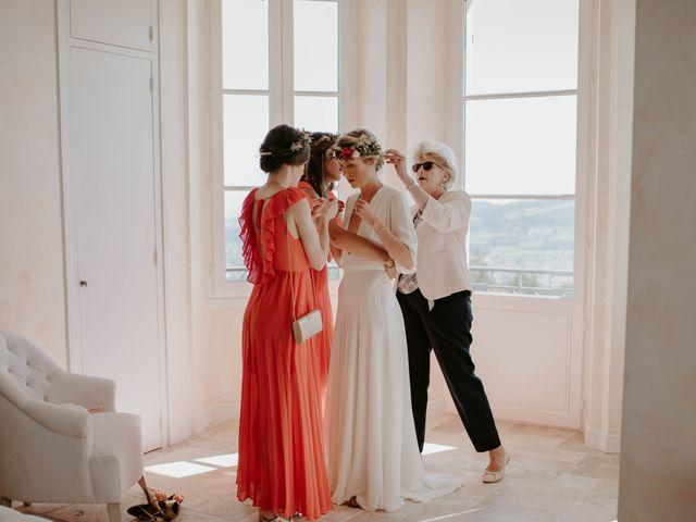 Le mariage de Mayer et Olivia à Le Castellet, Var 1