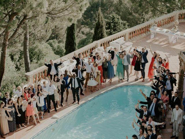 Le mariage de Mayer et Olivia à Le Castellet, Var 46