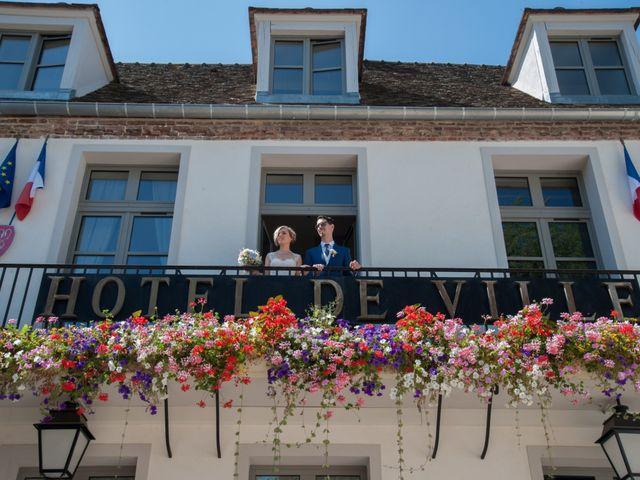 Le mariage de Xavier et Sandy à Montfort-l'Amaury, Yvelines 42