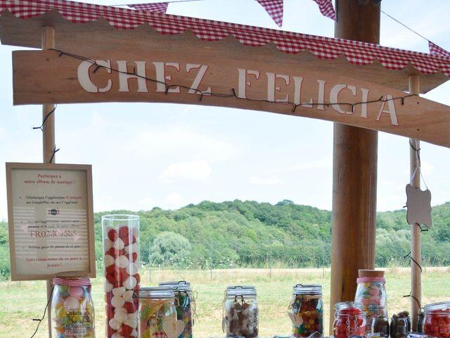 Le mariage de Kevin et Félicia à Crisolles, Oise 36
