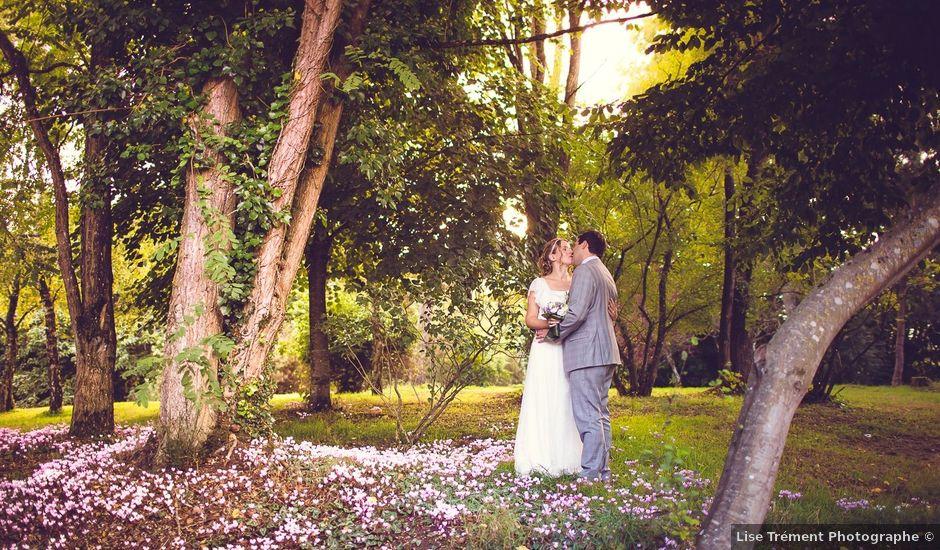 Le mariage de Charles et Alexandra à Quintin, Côtes d'Armor