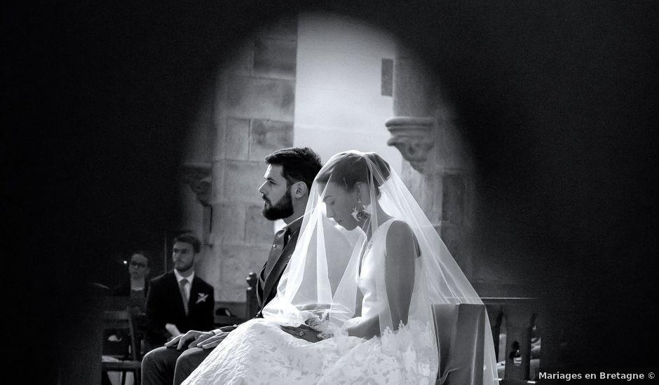 Le mariage de François et Anne à Hénanbihen, Côtes d'Armor
