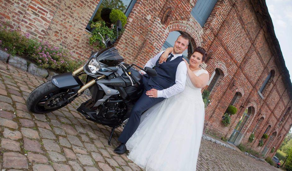 Le mariage de Yann et Elody à Quiévy, Nord