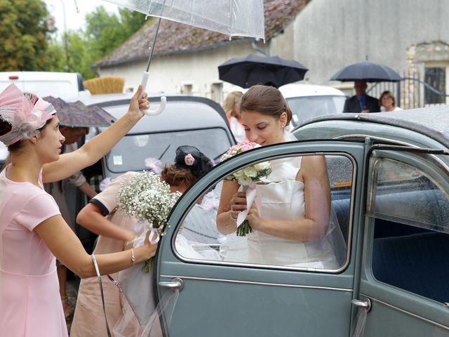 Le mariage de Clément et Noëlie à Menetou-Couture, Cher 5