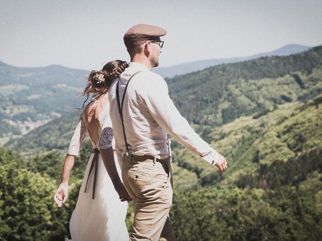 Le mariage de Julien et Carole à Villé, Bas Rhin 8