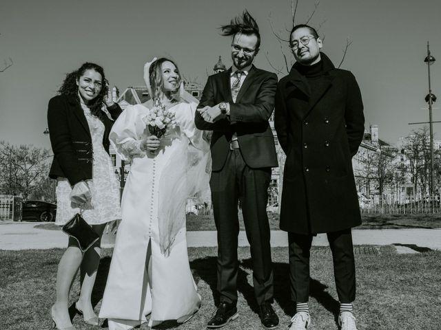 Le mariage de Phillip et Elisabeth à Paris, Paris 3