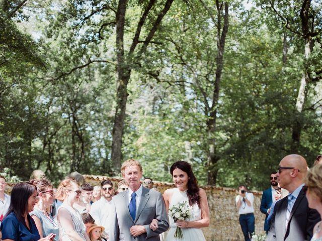 Le mariage de Richard et Amy à Bergerac, Dordogne 7